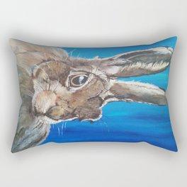 Wild hare Rectangular Pillow