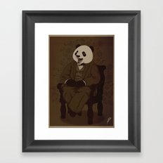The Alumni Cub Framed Art Print