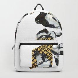 Bent Chrome Junk // Frozen Paint Drop Backpack