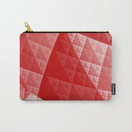 Red abstract pattern Carry-All Pouch