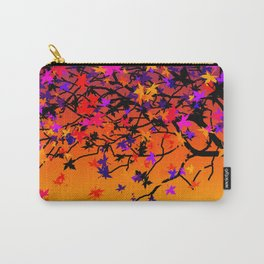 The Scent Of Halloween Autumn Tree Carry-All Pouch