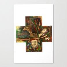 Religion (original) Canvas Print