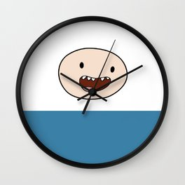 Finn Daytime clothes Iphone case Wall Clock