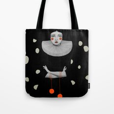 Rodinia in Black Tote Bag