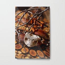 Terrestrial Perception Metal Print