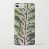 fern iPhone & iPod Cases featuring fern by Bonnie Jakobsen-Martin