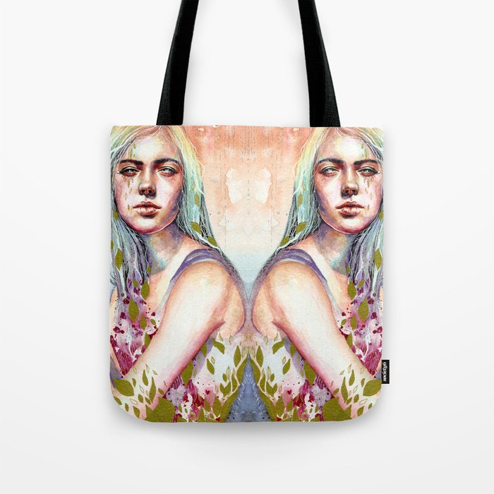 Through My Fingers Tote Bag