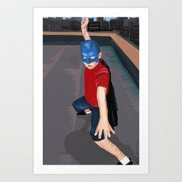 Batkid Cosplay Art Print