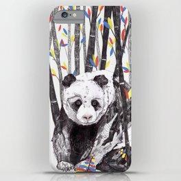 Panda Bear // Endangered Animals iPhone Case