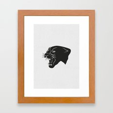 PANTHER Framed Art Print