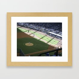 Game on Framed Art Print