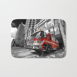 Fire Truck Bath Mat