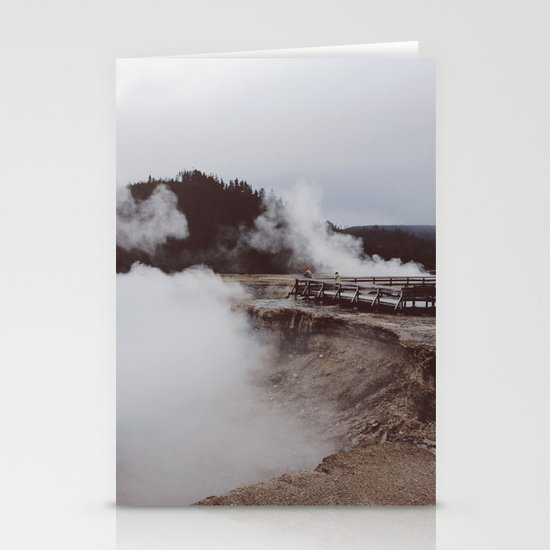 Excelsio Geyser Crater Stationery Cards