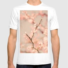 In Bloom Mens Fitted Tee MEDIUM White