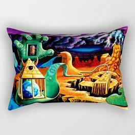 The Practical Deception by Vincent Monaco Rectangular Pillow