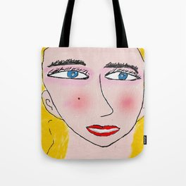 the blonde Tote Bag