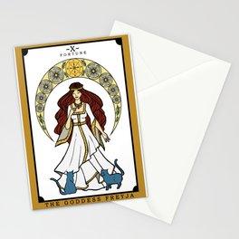 The Norse Goddess Freyja Tarot Card Stationery Cards