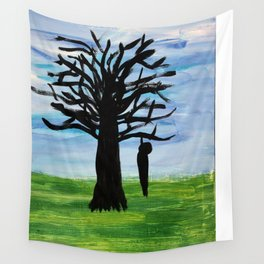 Silhouette Wall Tapestry