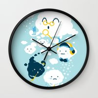 family Wall Clocks featuring family by Steven Toang