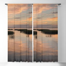 Sunset in the Lowcountry Blackout Curtain