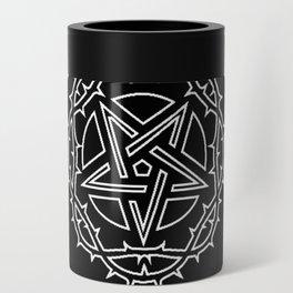 Ace of Spades Pentagram Star, Fun Gift Idea Design Can Cooler