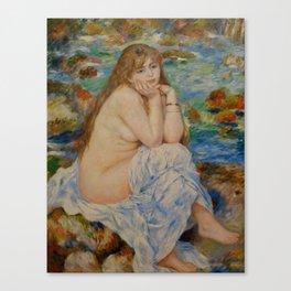 "Auguste Renoir ""Seated bather"" Canvas Print"
