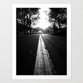 The Roads We Travel Art Print