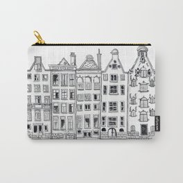 Amsterdam Canal Houses Sketch Carry-All Pouch