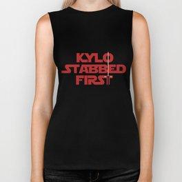Kylo Stabbed First Biker Tank