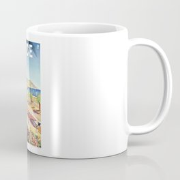 1935 Nice France Travel Poster Coffee Mug