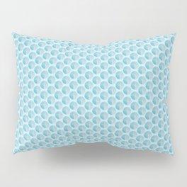 Blue Texture Shape  Pillow Sham