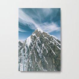 Mount Huntington Metal Print