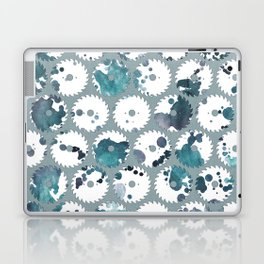Saw blades Laptop & iPad Skin