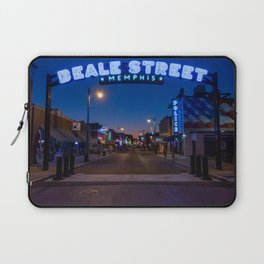 Walking in Memphis - Beale Street Laptop Sleeve