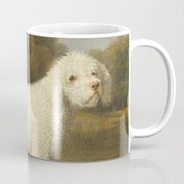 George Stubbs - White Poodle in a Punt Coffee Mug