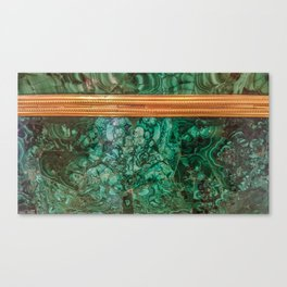 Malachite Box 3 Canvas Print