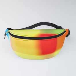 Colored blur background 7 Fanny Pack