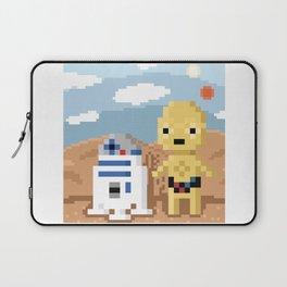 Best Friends - 8 Bit Series Laptop Sleeve