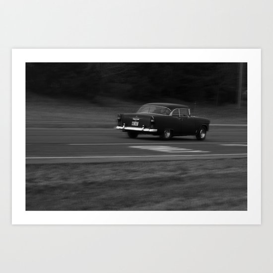 All the go-fast parts Art Print