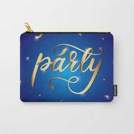 Party poster Carry-All Pouch