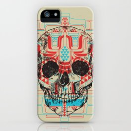 Skull Native iPhone Case