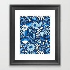 Annabelle - Blues Framed Art Print