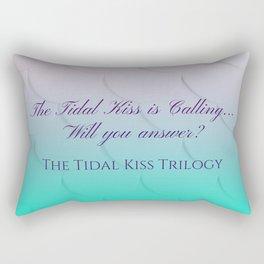 The Tidal Kiss is Calling... Rectangular Pillow