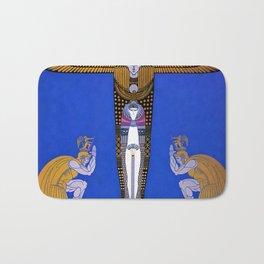"Art Deco Orientalism ""Cleopatra"" Design Bath Mat"