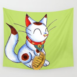 Calico Kitty Wall Tapestry