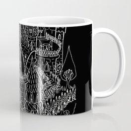 Castle B&W Coffee Mug
