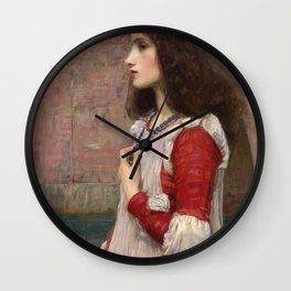 John William Waterhouse - Juliet Wall Clock