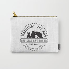 National Cat Day Carry-All Pouch