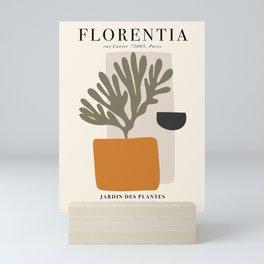 Exhibition poster Henri Matisse-Florentia. Mini Art Print