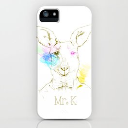 Mister K iPhone Case